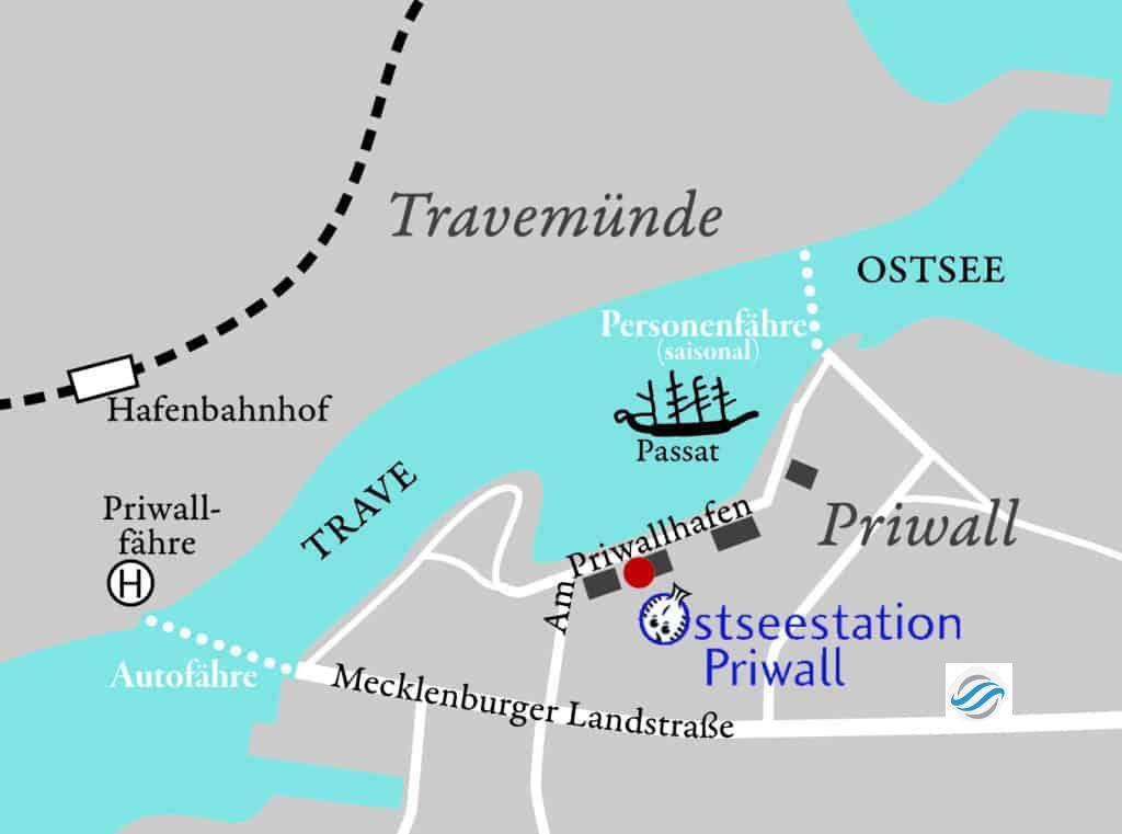 Grenzöffnung am Priwall